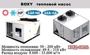 Моноблочные кондиционеры BOXY