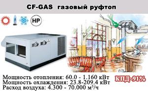 Автономные моноблочные Кондиционеры CF-GAS